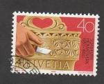 Stamps Switzerland -  Artesanía suiza