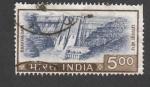 Sellos de Asia - India -  Presa Bhakra