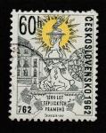 Stamps Czechoslovakia -  1200 aniv. de Teplice