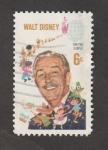 Sellos de America - Estados Unidos -  Walt Disney
