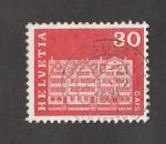 Stamps Switzerland -  Bloque de viviendas