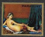 Sellos de America - Paraguay -  1341 - Pinturas del Museo de Louvre (París)