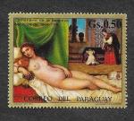 Sellos de America - Paraguay -  1348 - Pinturas