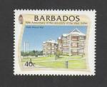 Stamps Barbados -  50 Aniv. de la Universidad de las Indias Occidentales