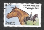 Stamps : Asia : Afghanistan :  Mi1908 - Caballo