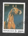 Stamps Benin -  865 - Caballo