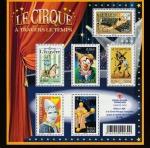 Stamps France -  El circo