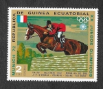 Stamps Equatorial Guinea -  Yt25-B - XX JJOO de Munich
