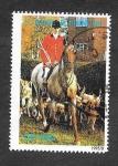 Stamps São Tomé and Príncipe -  1217 - Caballo