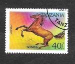 Stamps Tanzania -  1153 - Caballo