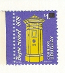 Stamps Uruguay -  Buzon vecinal 1879.