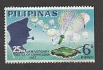 Sellos de Asia - Filipinas -  25 Aniv. de la batalla de Corregidor