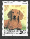 Stamps : Africa : Benin :  1089 - Perro