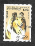 Stamps : Asia : Cambodia :  1564 - Perro