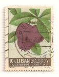 Sellos de Asia - L�bano -  Frutas. Ciruela