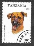 Sellos de Africa - Tanzania -  1146 - Perro