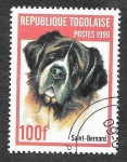 Stamps : Africa : Togo :  1911A - Perro