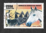 Stamps Cuba -  4641 - Animales al Servicio del Hombre