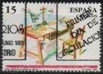 Stamps Spain -  San Juan d´l´Cruz