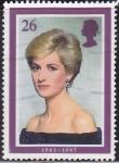 Stamps United Kingdom -  2021 - Lady Diana Spencer