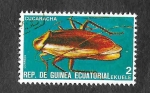 Stamps : Africa : Equatorial_Guinea :  Yt115-P - Insecto