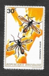 Stamps : Africa : Rwanda :  496 - Insecto