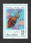 Stamps : Asia : Vietnam :  1222 - Insecto