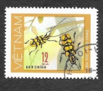 Stamps Vietnam -  877 - Insecto