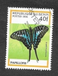 Sellos de Africa - Benin -  801 - Mariposas