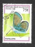 Sellos del Mundo : Africa : Benin : 803 - Mariposas