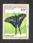 Sellos del Mundo : Africa : Benin : 801 - Mariposas