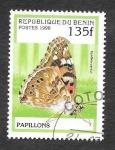 Stamps Benin -  805 - Mariposas