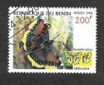 Sellos del Mundo : Africa : Benin : 1107C - Mariposas