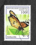 Sellos del Mundo : Africa : Benin : 804 - Mariposas
