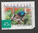 Stamps Australia -  Pajaro jaspeado