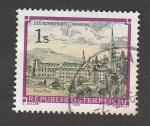 Stamps Austria -  Abadía cisterciense de Mehrerau