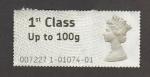 Stamps United Kingdom -  Efigie Isabel II