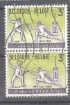 Sellos de Europa - Bélgica -  Esgrima Y1247