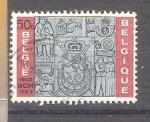 Sellos del Mundo : Europa : Bélgica :  RESERVADO JAVIVI 50 anv oficina de cheques postales Y1271