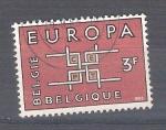 Sellos del Mundo : Europa : Bélgica :  Europa 1260