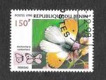 Stamps : Africa : Benin :  1107B - Mariposa