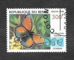 Stamps Benin -  1107E - Mariposa