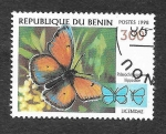 Sellos del Mundo : Africa : Benin : 1107E - Mariposa