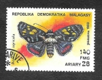 Sellos del Mundo : Africa : Madagascar : 1083 - Mariposa