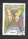 Sellos del Mundo : Africa : Madagascar : 1081 - Mariposa