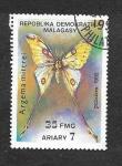 Sellos de Africa - Madagascar -  1081 - Mariposa