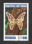 Sellos de America - Nicaragua -  1236 - Mariposas Nocturnas