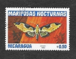 Sellos de America - Nicaragua -  1231 - Mariposas Nocturnas