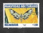 Sellos del Mundo : America : Nicaragua : 1234 - Mariposas Nocturnas