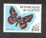 Sellos del Mundo : Africa : Guinea : 1428 - Mariposa